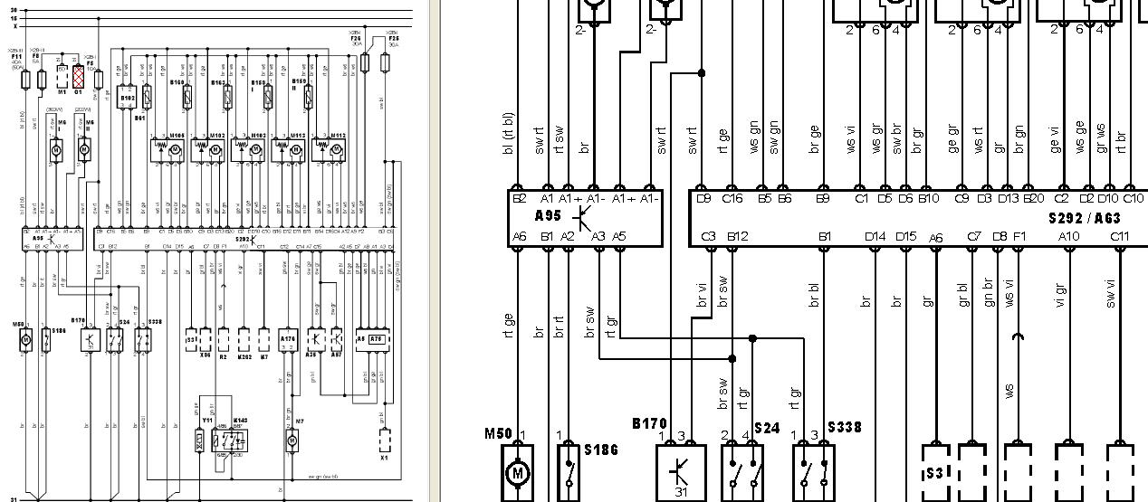audi a6 2 5 tdi fusible planche de bord 1 fusible relais