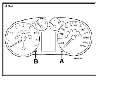indicateur de maintenance Audi A3 1.6 l