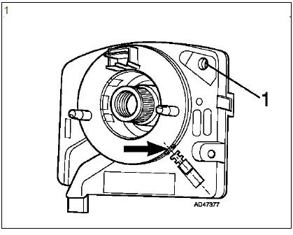 Dépose et repose du volant airbags diagnostic audi a3 1.6l diagnostic Dépose et repose du volant airbags 2