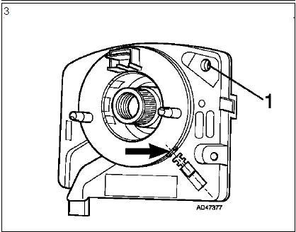 Dépose et repose du volant airbags diagnostic audi a3 1.6l diagnostic Dépose et repose du volant airbags 6