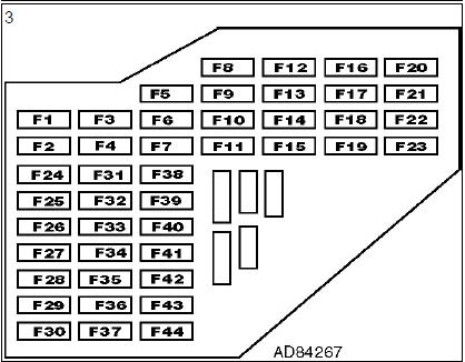 boîte fusibles plaques relais planche bord climatisation diagnostic audi a3 1.6l diagnostic boîte fusibles plaques relais planche bord climatisation 4