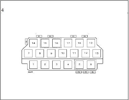 boîte fusibles plaques relais planche bord climatisation diagnostic audi a3 1.6l diagnostic boîte fusibles plaques relais planche bord climatisation 5