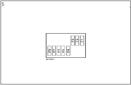 boîte fusibles plaques relais planche bord climatisation diagnostic audi a3 1.6l diagnostic boîte fusibles plaques relais planche bord climatisation 6