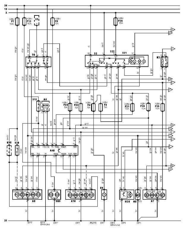 schéma et câblage éclairage extèrieur avec système signalisation défaut ampoules audi a3 1.6 l schéma et câblage audi éclairage extèrieur avec système signalisation défaut ampoules 2