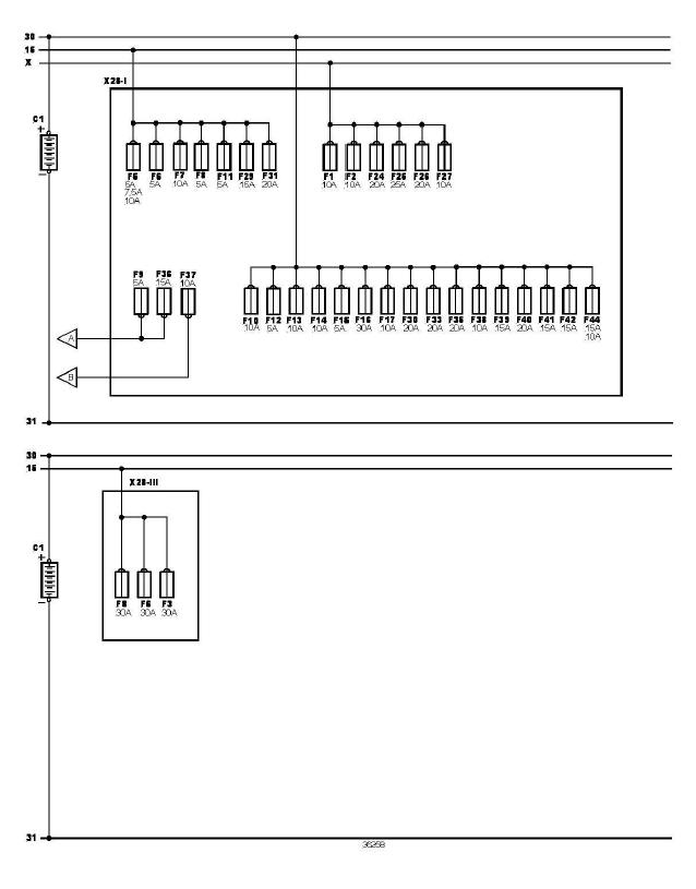 schéma et câblage alimentation batterie audi a3 1.6 l schéma et câblage audi alimentation batterie 2
