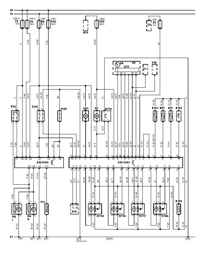 sch u00e9ma et c u00e2blage climatisation diagnostic audi a3 1 6l