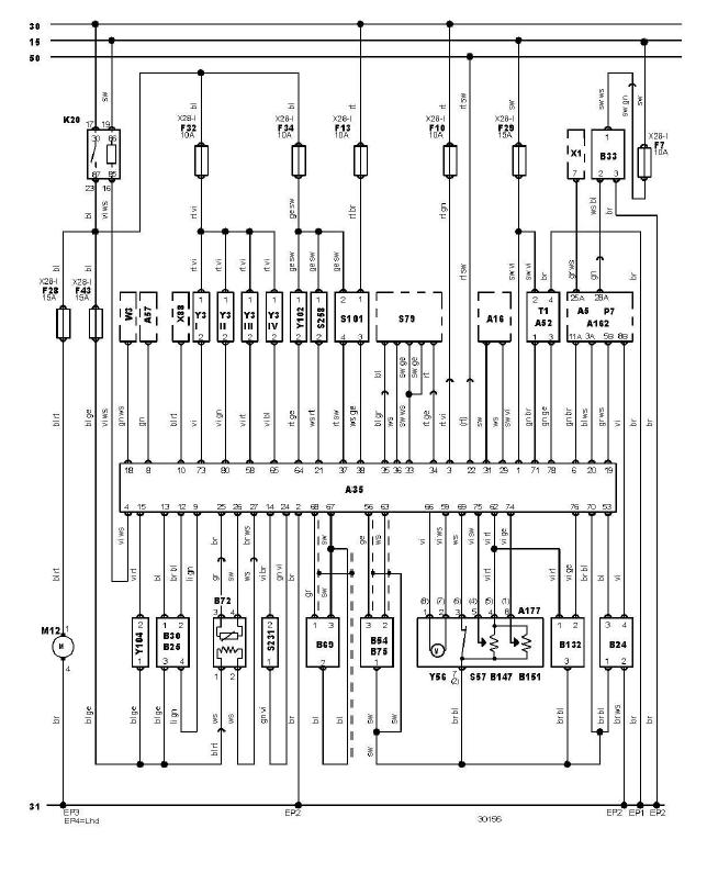 sch u00e9ma et c u00e2blage gestion moteur audi a3 1 6 l diagnostic